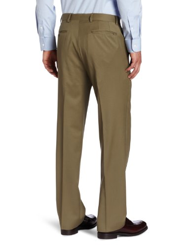 Joseph Abboud Men's Flat Solid Front Dress Pant