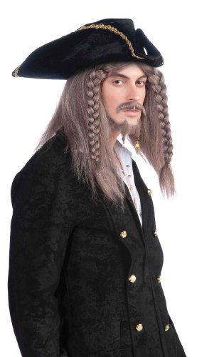 Forum Novelties Pirate Captain Wig