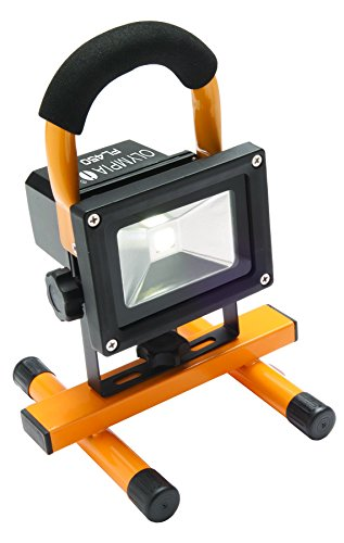 Olympia FL450 Rechargeable Waterproof LED Work Light, 450 Lumens (Small One Flourescent Light)