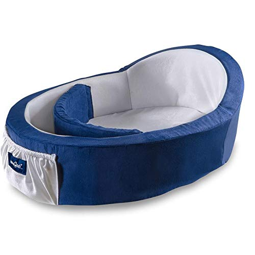 Mumbelli - The Only Womb-Like and Adjustable Infant Bed. Patented Design, Safety Tested, Reflux Wedge Included. Travel Bassinet, Great for Resting, Crib Insert and co