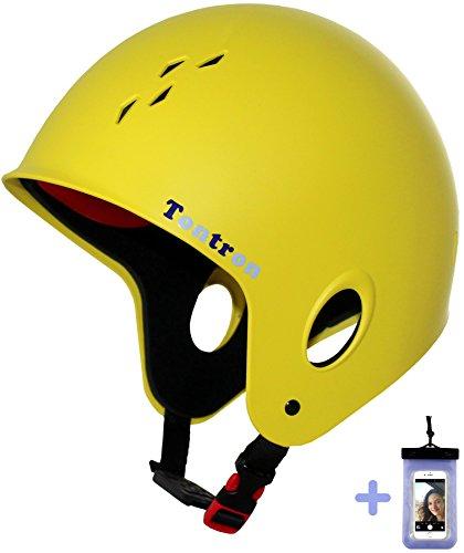 Tontron Full Cut Water Helmet with Waterproof Phone Case