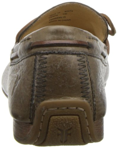 Loafer Tie Men's Pebbled Putty Frye Lewis EFTqxwq7