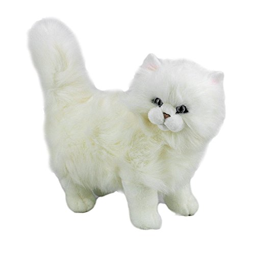 Bocchetta Plush Toys Cat, Persian Soft Plush Toy Standing -