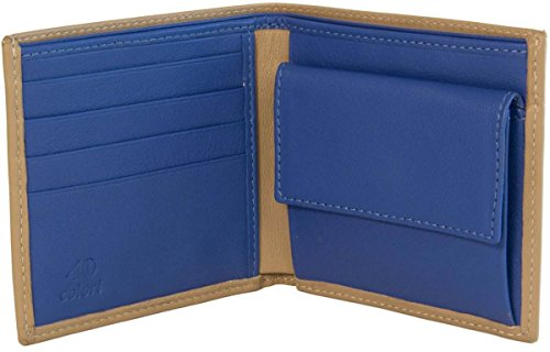 40 Leather Leather Mens Royal Wallet Mens 40 40 Wallet Royal Colori Colori Beige Mens Colori Beige qB5wXUxw