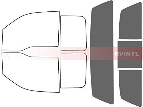 Rtint Window Tint Kit for Ford F-150 2004-2008 (2 Door SuperCab) - Rear Windshield Kit - 35%