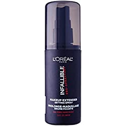 L'Oréal Paris Infallible Pro-Spray + Set Make-Up Setting Spray, 3.4 fl. oz.