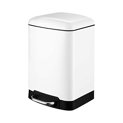 Amazon.com: YJLGRYF-Trash Can 6L Rectangular Stainless Steel ...