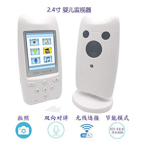 New Landing 2.4 Inch Wireless Intercom Baby Monitor Temperature Display Baby Camera by New Landing