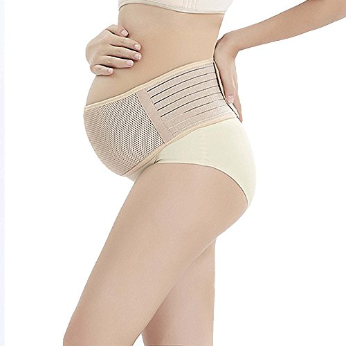 Women Maternity Belly Band Pregnancy Belt Support Best Elastic Pregnant Bands One Size Non-slip Back Supports by SCIONE