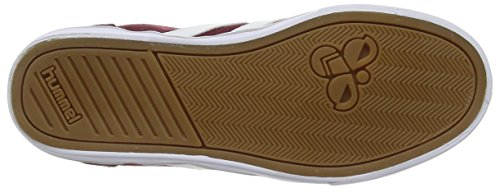 Hummel Slimmer Stadil Mono Hi - Zapatillas altas Unisex adulto Rojo - rojo (Cabernet 3661)