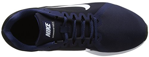 Running Black Blu NIKE Obsidian Midnight Navy Uomo Scarpe 8 Downshifter White 400 Dark qpwwXOt