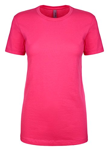 Next Level Womens The Ideal Crew (N1510) -Raspberry -L
