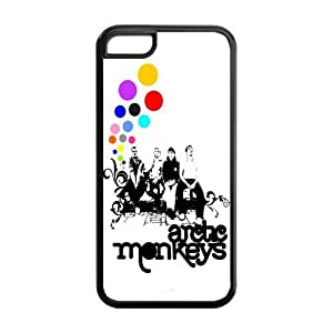 Artic Monkeys Solid Rubber Customized Cover Case for iPhone 5c 5c-linda418