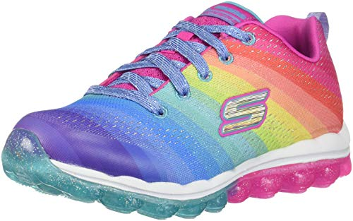 Skechers Kids Girl's Skech-Air 80169L (Little Kid/Big Kid) Multi 11 M US Little Kid