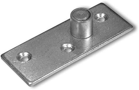 Puerta Corredera accesorios plástico Guía goma Tope Liderazgo metal: Amazon.es: Hogar