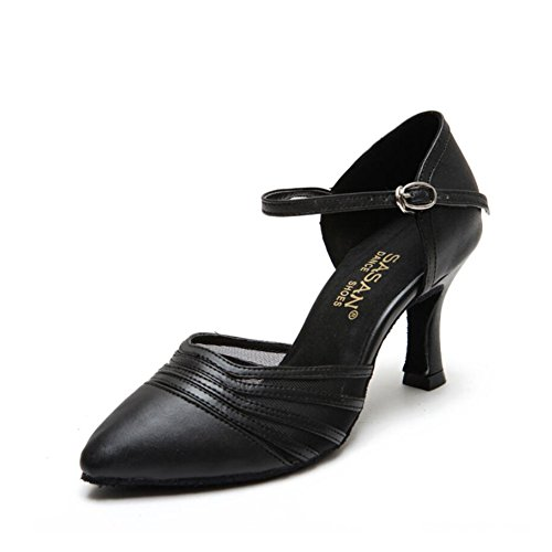 35 Dance Women's Heel Black A Size Evening Party Salsa Shoes Shoes Color Shoes Ballroom Bronze PU Shoes Latin amp; B XUE Sandal vwqdRBv