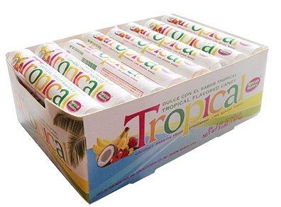 Necco Tropical Wafers 2oz Rolls - 24ct Box