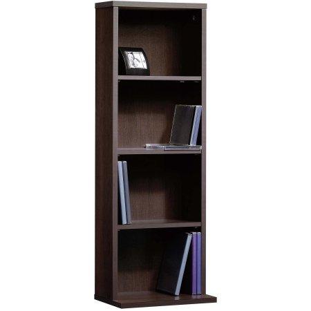 By Home Design Media Storage Organizer,Drawers,3 Shelves,Cinnamon Cherry,35.78'' H