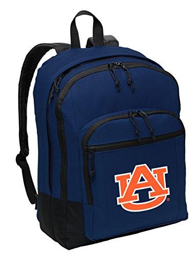 (Broad Bay Classic Auburn Backpack Medium Auburn University Backpack Laptop Sleeve)