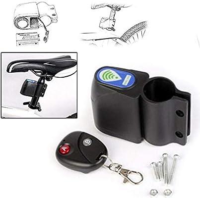 Grizack - Alarma inalámbrica para Bicicleta con Mando a Distancia ...