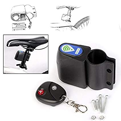 Grizack - Alarma inalámbrica para Bicicleta con Mando a Distancia y Sistema de Seguridad antirrobo