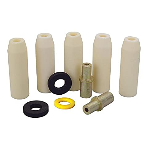 Skat Blast Small Ceramic Nozzle Combo Pack for Skat Blast Power Siphon Sandblasting Guns, Made in USA, - Ceramic Sandblaster