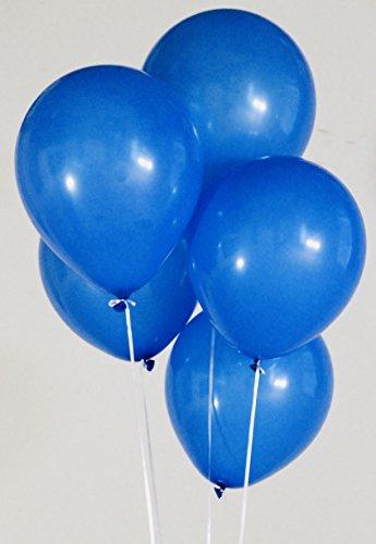 latex balloons blue - 6