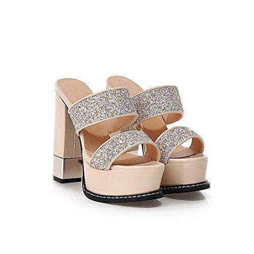 Pantofole Balamasa Da Donna, Ballo-sala Da Ballo, Colori Assortiti, Albicocca