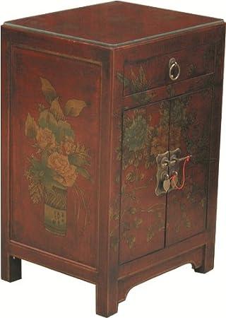 Déco Zen & Feng Shui - Table de chevet chinoise style Cité Xian ...