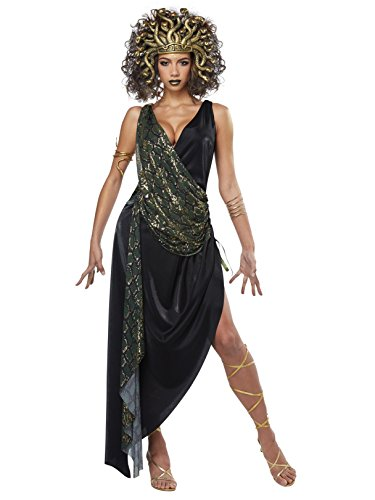 California Costumes Women's Sedusa-Adult Costume, Green, X-Large -