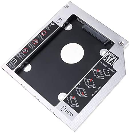 TOOGOO Unidad De Disco Duro 9.5Mm 1 Caja De Aluminio para Caja Ssd ...