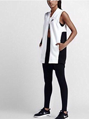 Nike Mujeres Bonded Mesh Sweatshirt Blanco