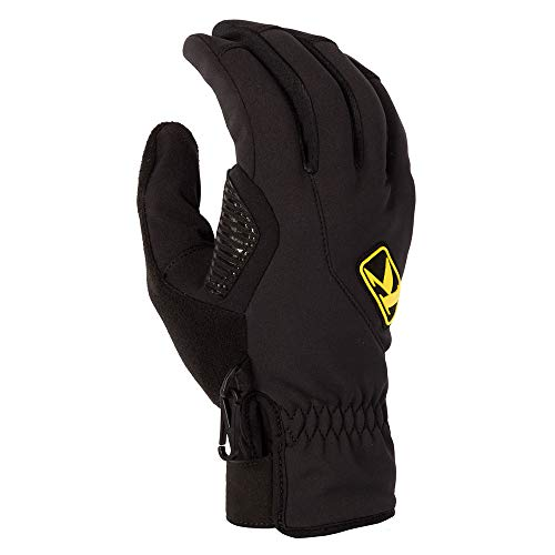 KLIM Inversion Men's Ski Snowmobile Gloves - Black/Medium