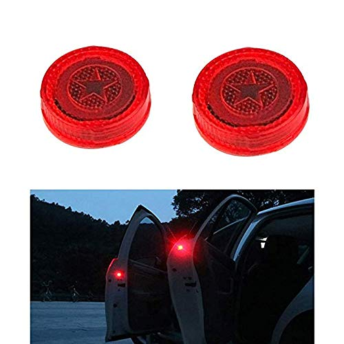 2Pcs Universal Wireless Vehicle LED Safety Light Warning