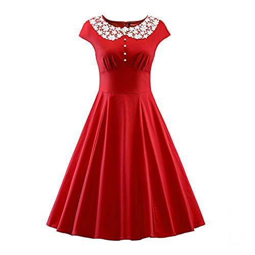 50s style dress plus size - 8