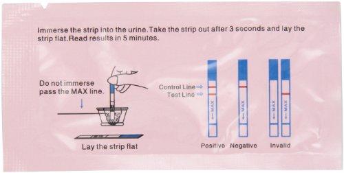 100 Wondfo Accueil HCG bandes test de grossesse