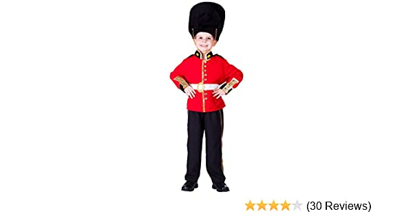 Deluxe Royal British Guard Child/'s Costume Large 12-14