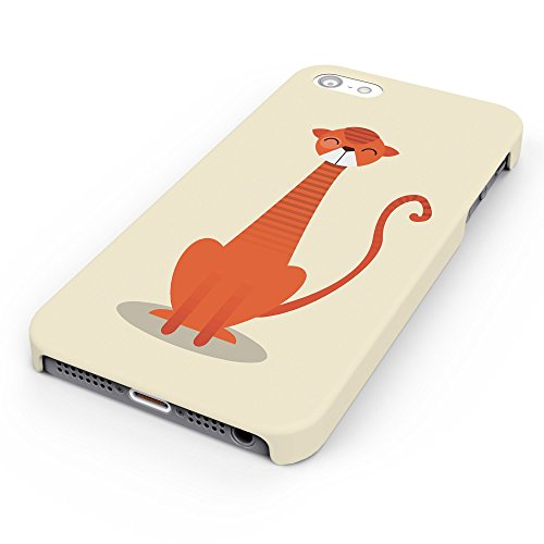Koveru Back Cover Case for Apple iPhone 5S - Thinking Cat