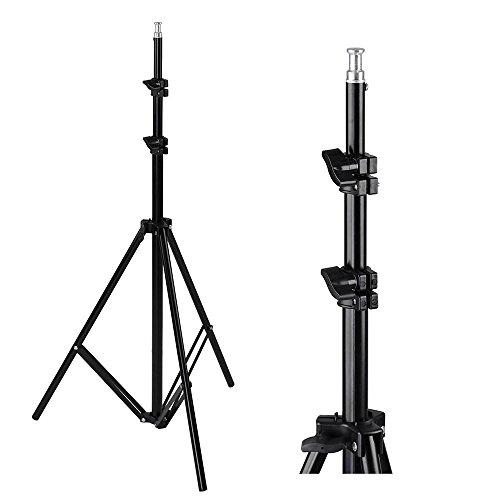 AW Portable Flat Clothing Photography Kit w/Backdrop 2X 45W Bulb 2X 33 Translucent White Umbrella Set by AW (Image #4)