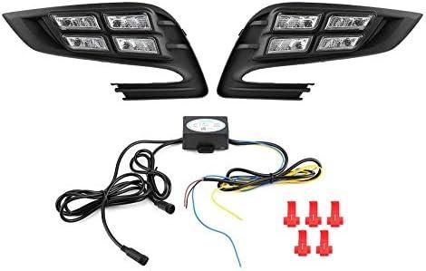 KIMISS 1 Pair Car Daytime Running Light Turn Signal 3-Color LED Fog Lamp for Encore 2017-2018? / KIMISS 1 Pair Car Daytime Running Light Turn Signal 3-Color LED Fog Lamp for Encore 2017-2018?