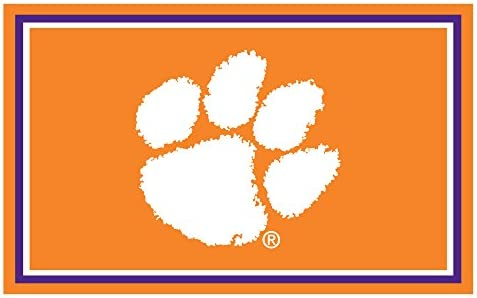 FANMATS Clemson Tigers Rug 4×6