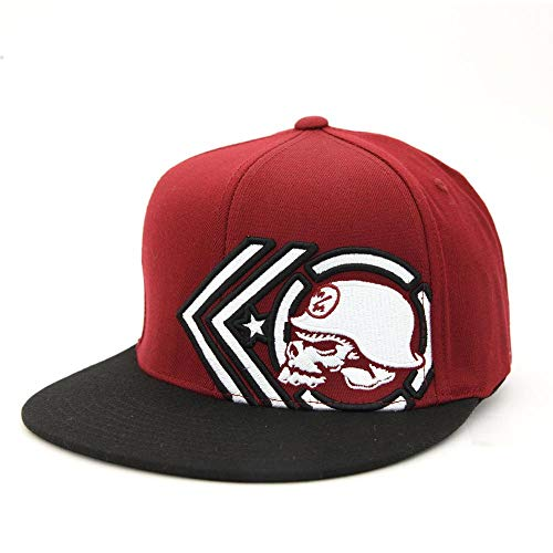 Metal Mulisha Men's Artillery Burgundy Flexfit Hat ()