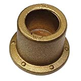 Huck BobTail BTC-2B8 Lockbolt Collar; 1/4 Inch (0.250 Inch), FLNG Collar W/FIT UP TAB, ALUM, Plain (100 PK)