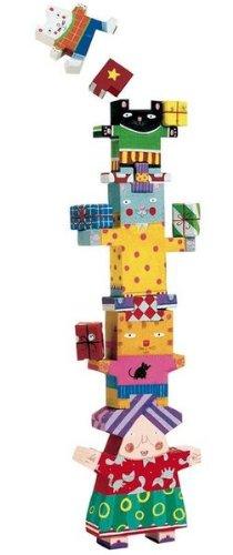 Djeco Matoudemata Balancing Game (12 pc) by Djeco