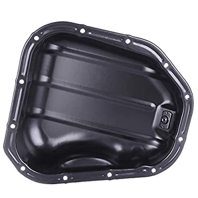 TUPARTS Engine Oil Pan for Lexus ES300 RX300 RX400h Toyota Avalon Highlander Sienna V6 L6 94 95 96 97 98 99 00 01 02 03 04 05 06 07 08 with Engine Oil Drain Pan 5.9L 6.7L with OE 264-316 Oil Drip Pan: Automotive