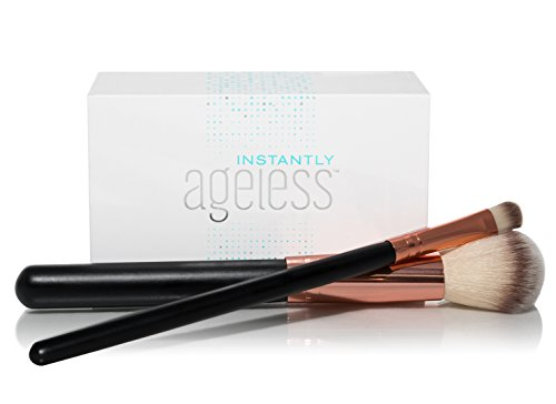 Jeunesse Instantly Ageless 25 Vials W/ 2 FREE Professional Makeup Brushes | Instantly Ageless 25 Vial Box Set with FREE Professional Brush Set by Instantly Ageless (Image #3)