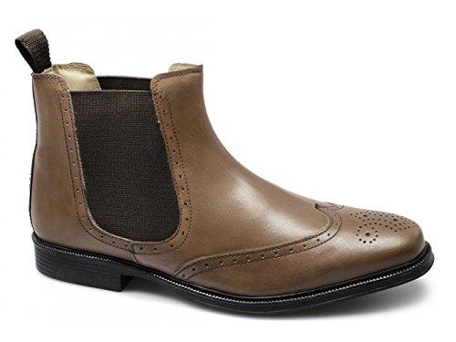 Chelsea Roamer Roamer Boots Herren Herren Hellbraun SSwt60