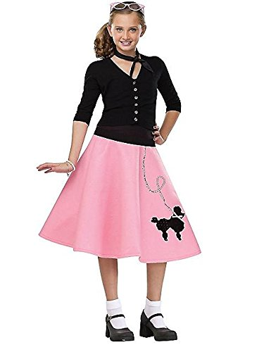 Kids 50s Poodle Skirt (50s Poodle Dress)