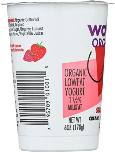 WALLABY Organic Strawberry Blended Lowfat Yogurt, 6 oz by WALLABY: