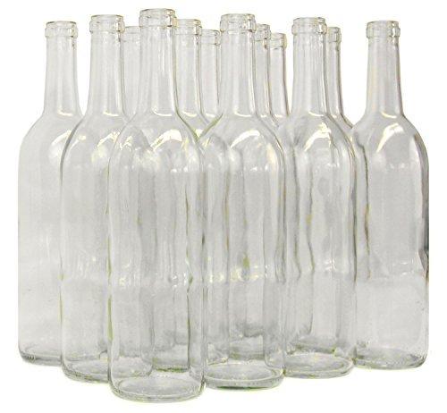 Home Brew Ohio B01EI3A6S0 FBA_Does Not Apply 6 Gallon Set: Clear Claret/Bordeaux (36 Bottles), 1